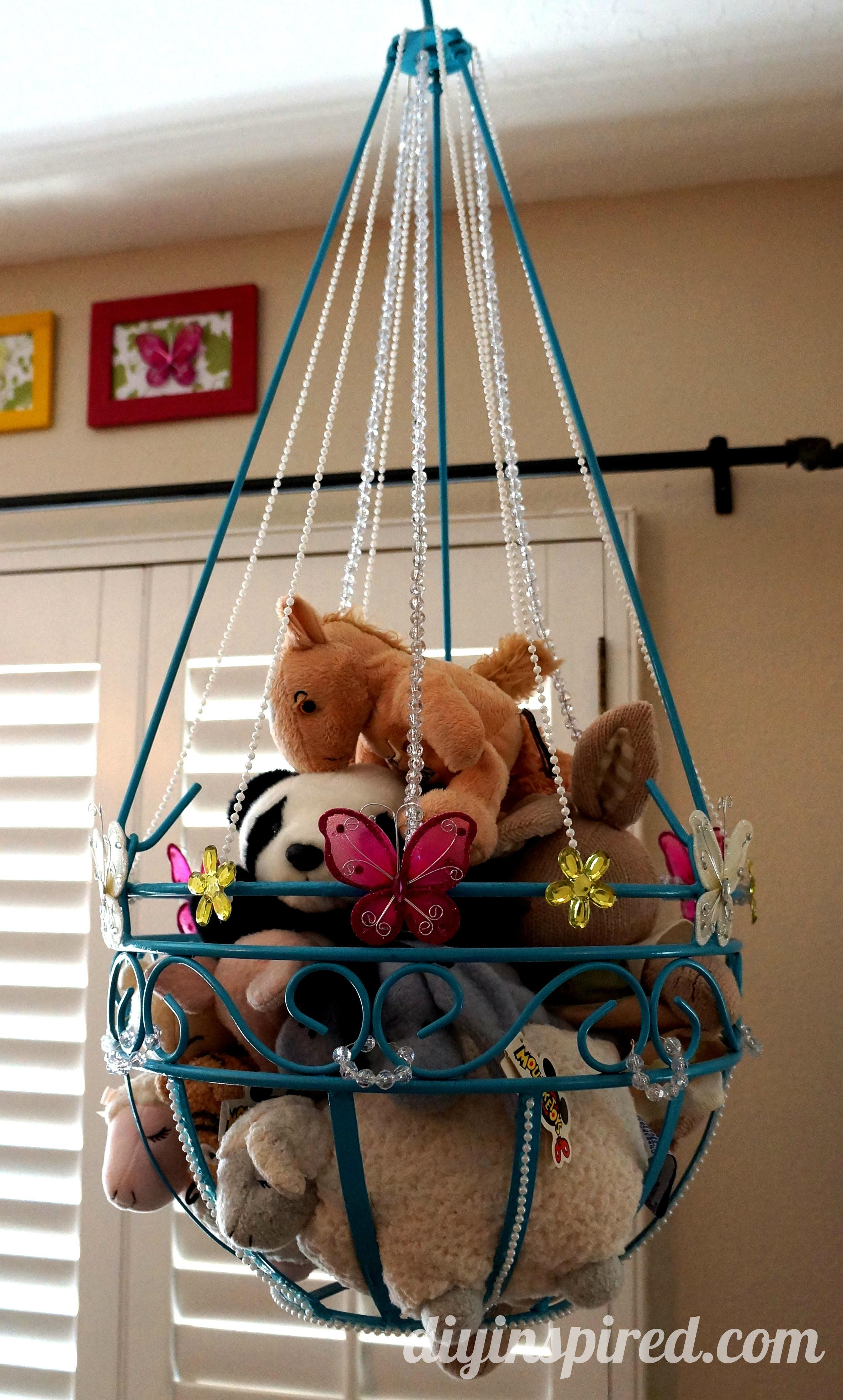 Stuffed Animal Toy Storage Diy Inspired