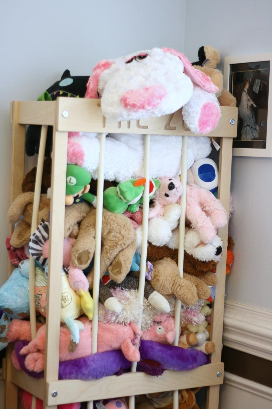 Stuffed Animal Zoo Storage Your Kid Little