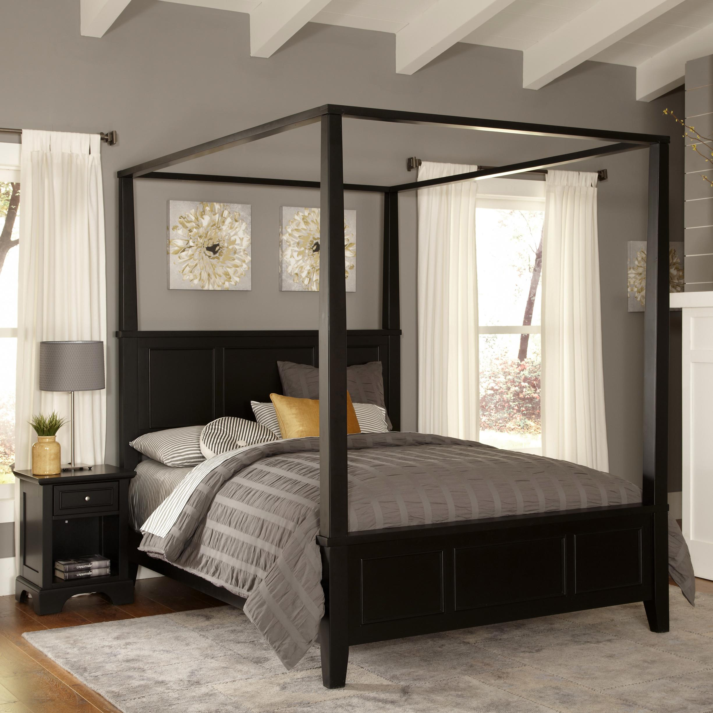 Stunning Bedrooms Flaunting Decorative Canopy Beds Metal