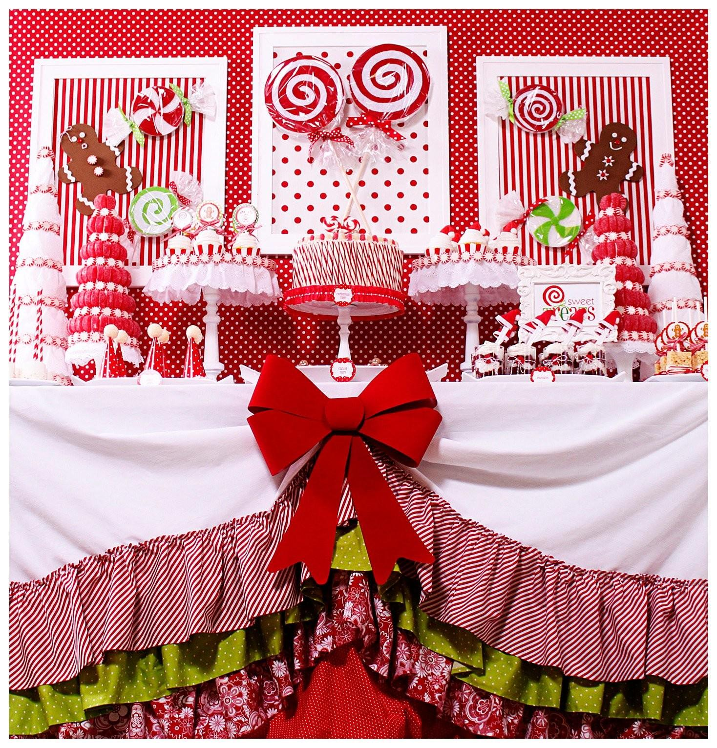Stunning Christmas Table Decorations Ideas Red