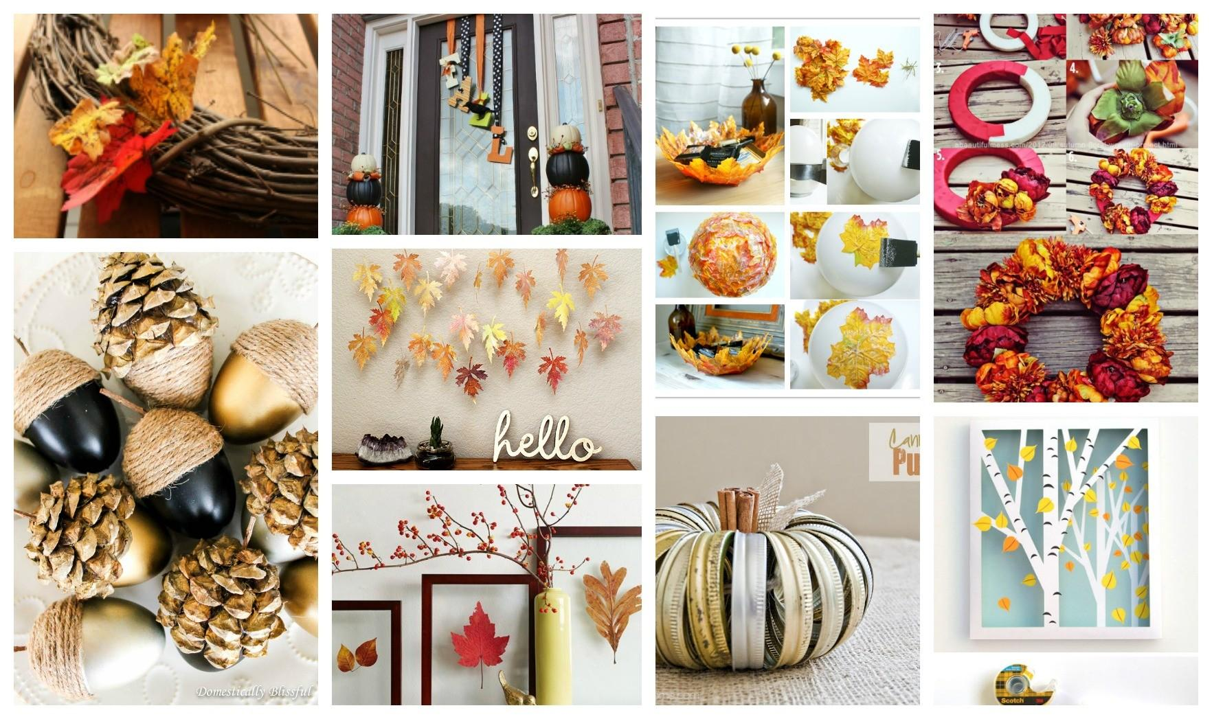 Stunning Diy Fall Crafts Welcome New Season