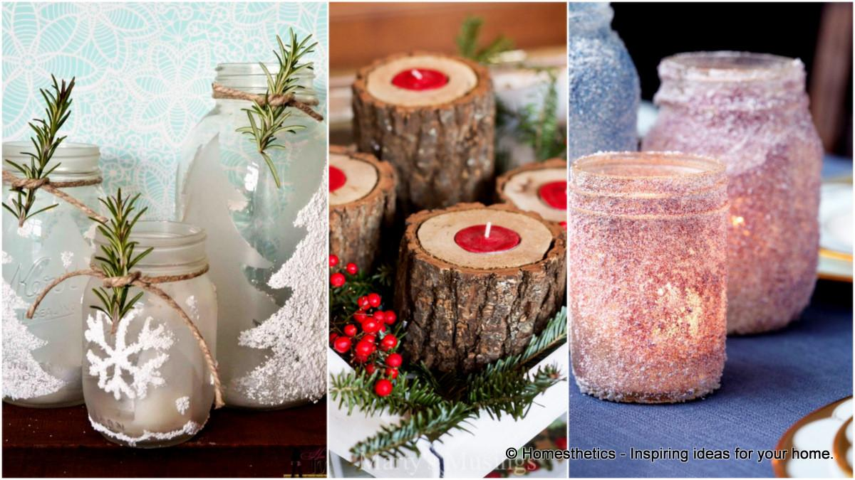 Stunning Diy Holiday Candle Holder Ideas Homesthetics