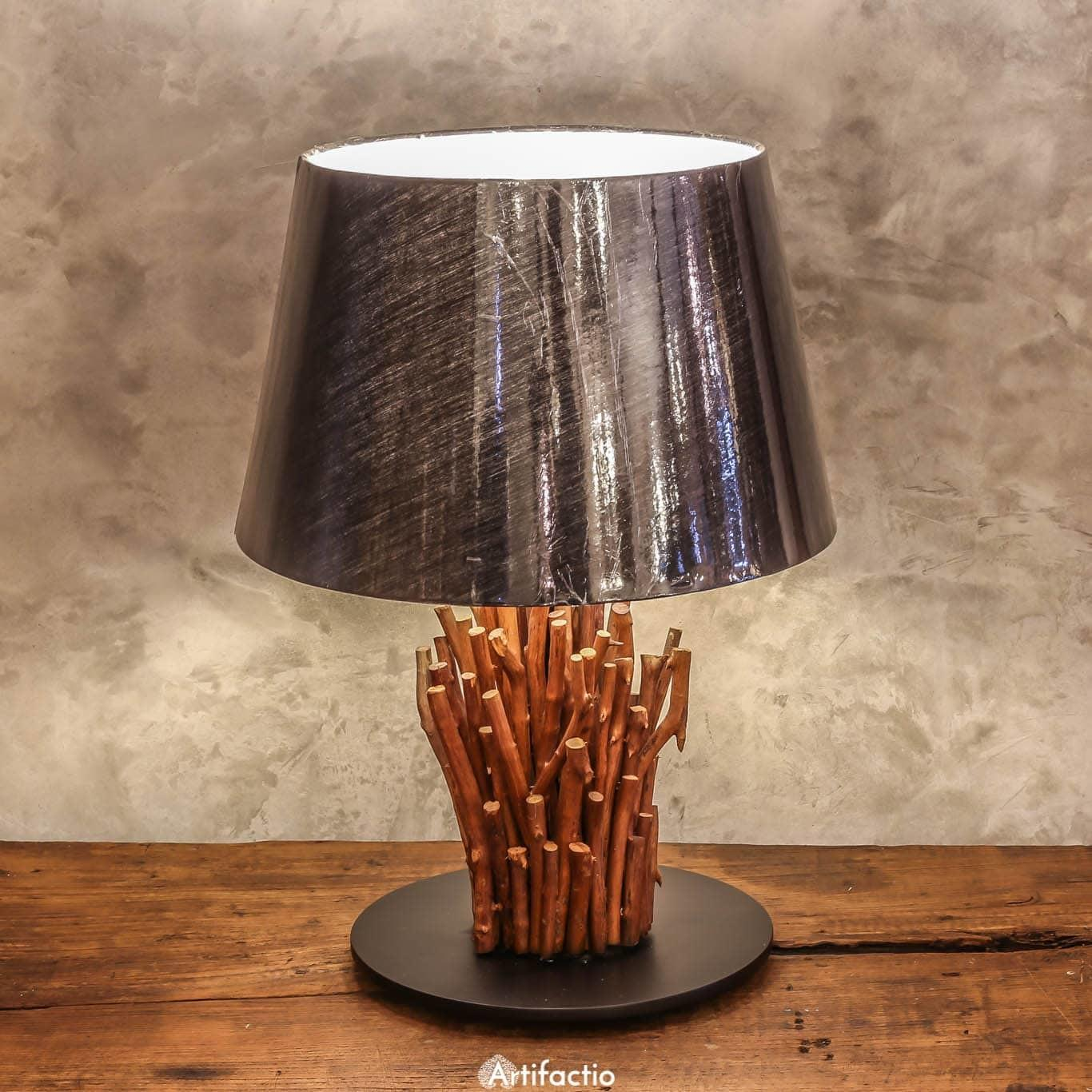Stunning Driftwood Table Lamp Artifactio
