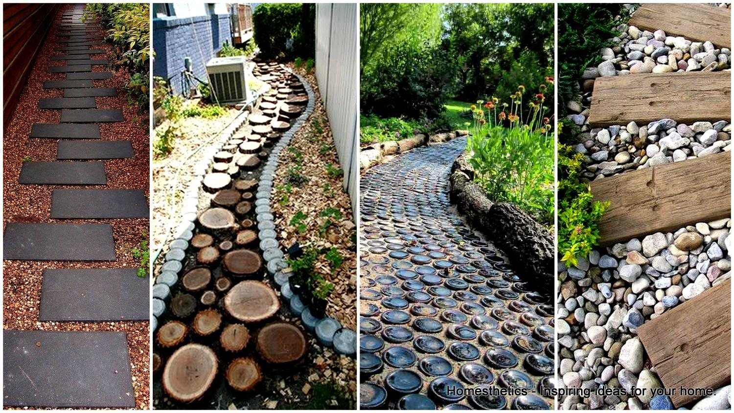 Stunning Garden Pathways Can Make Your Own