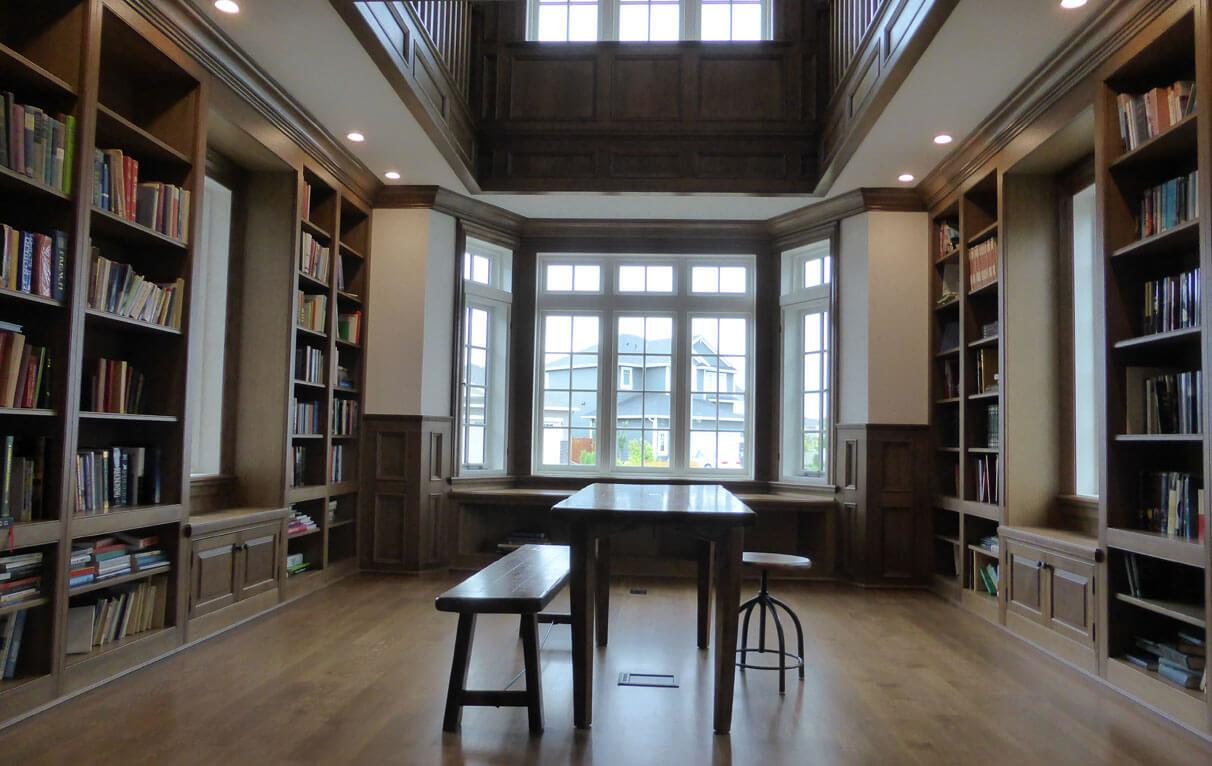 Stunning Home Library Designs Attract Your Attention