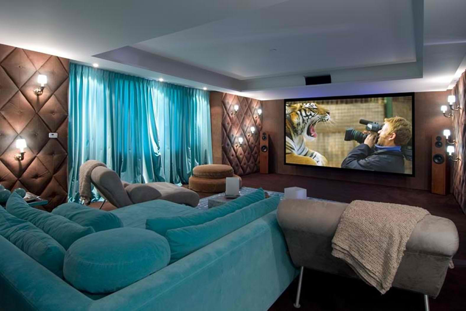 Stunning Home Theater Rooms Inspire