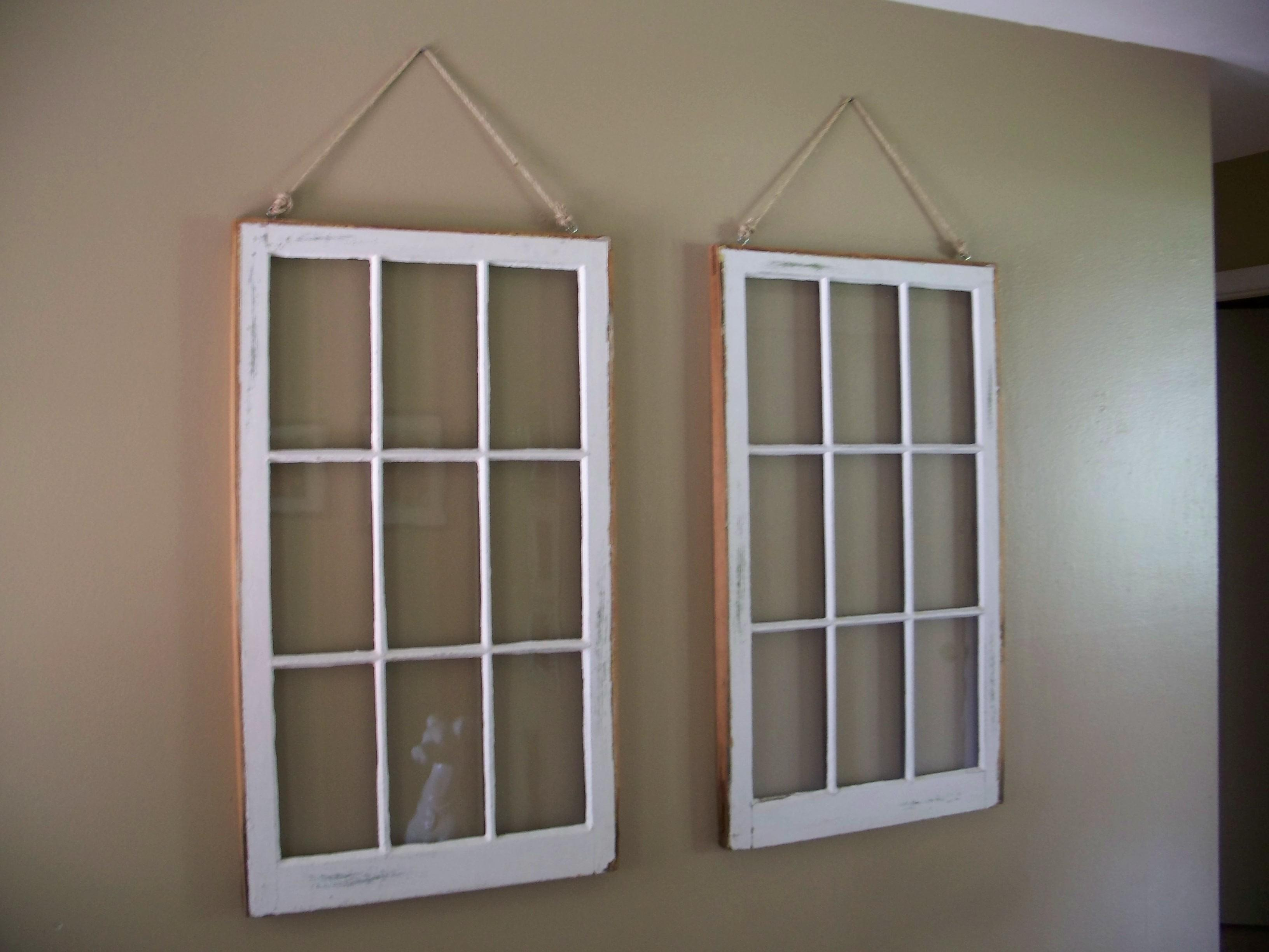 Stunning Interior Hanging Diy Window Frame Also