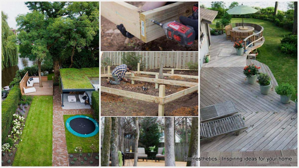 Stunning Low Budget Floating Deck Ideas Your Home