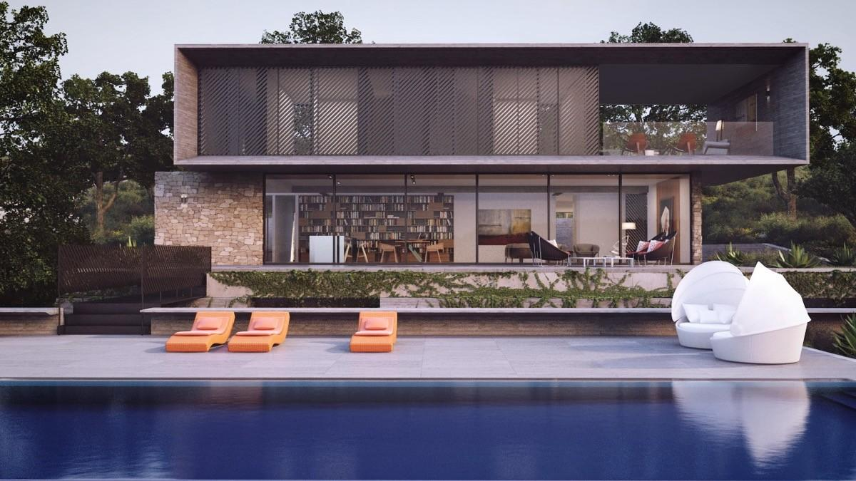 Stunning Modern Home Exterior Designs Have Awesome