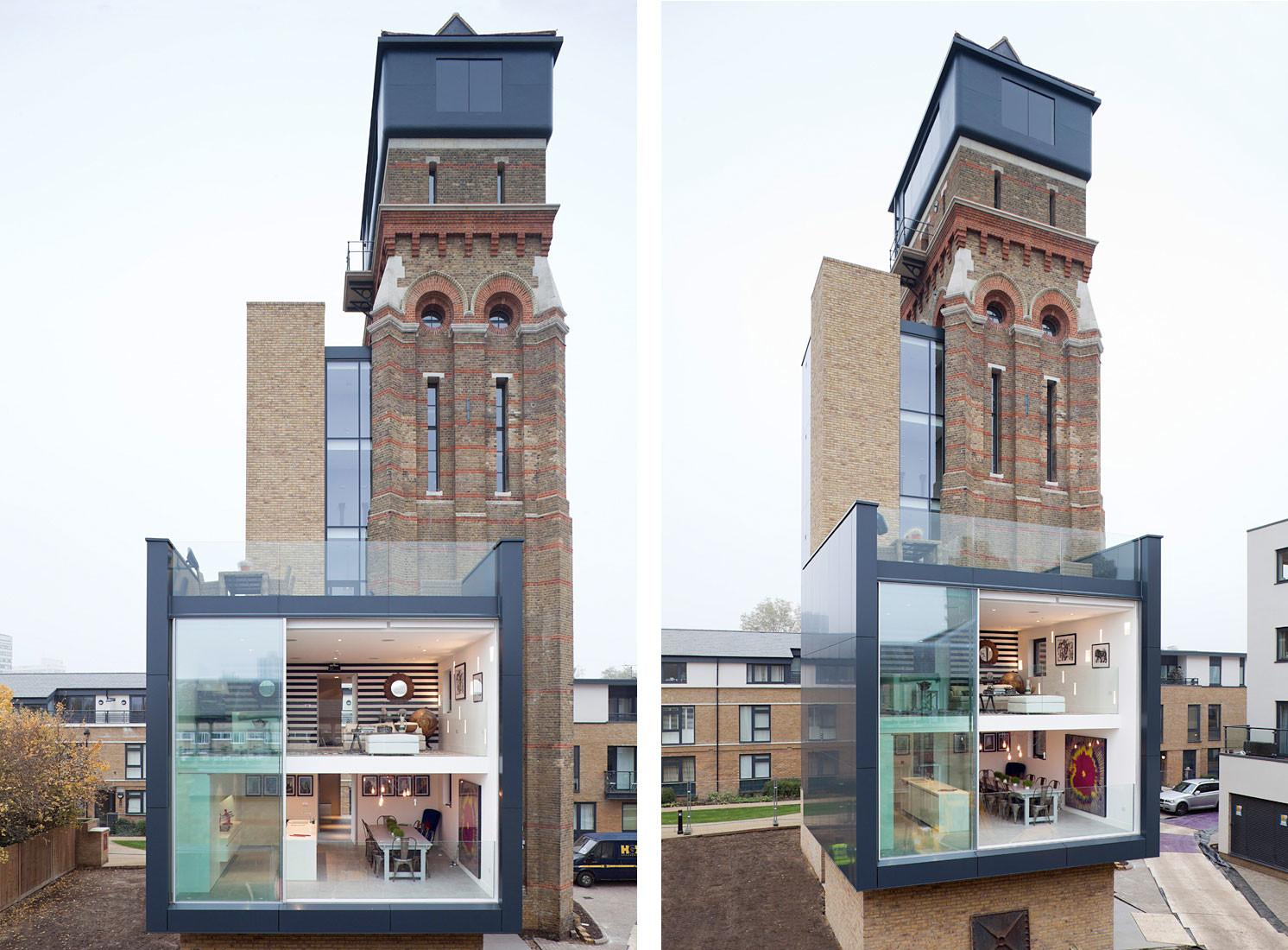 Stunning Water Tower Conversion London