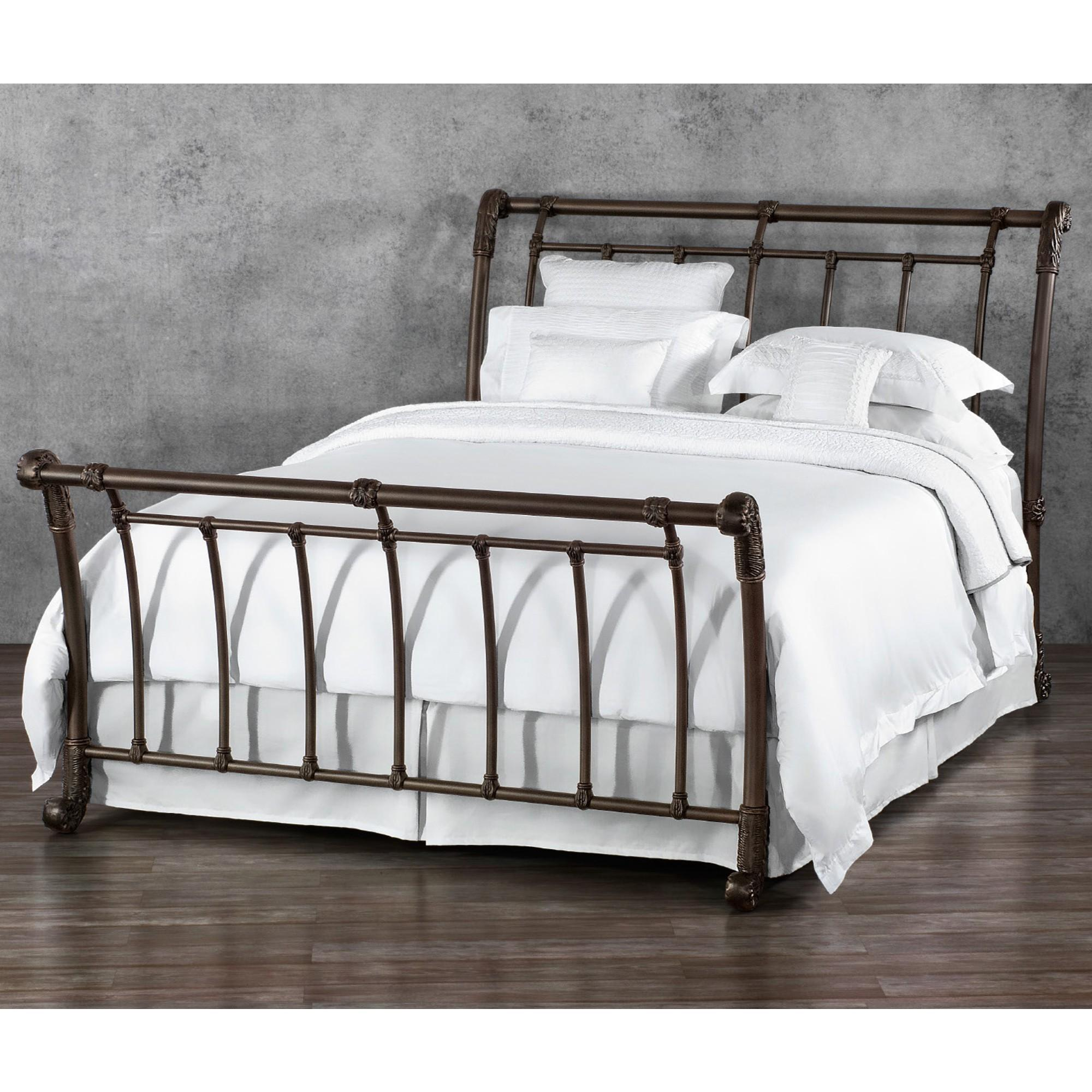 Sturdy Iron Headboard Footboard Trends Metal