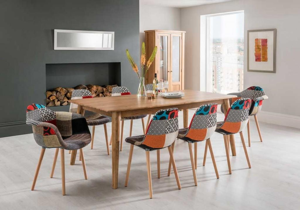 Style Dining Room Table Retro