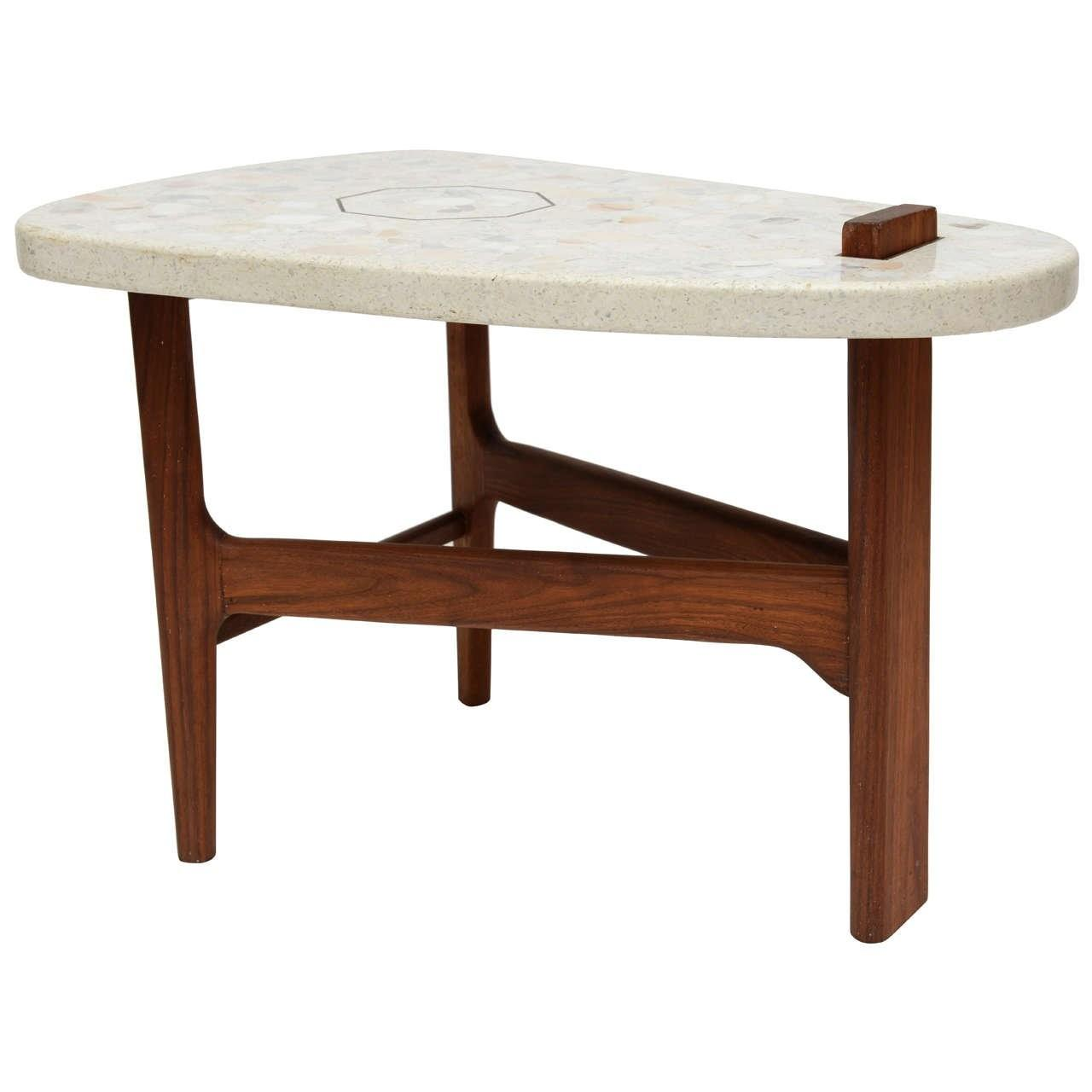 Style Harvey Probber Surfboard Side Table 1stdibs