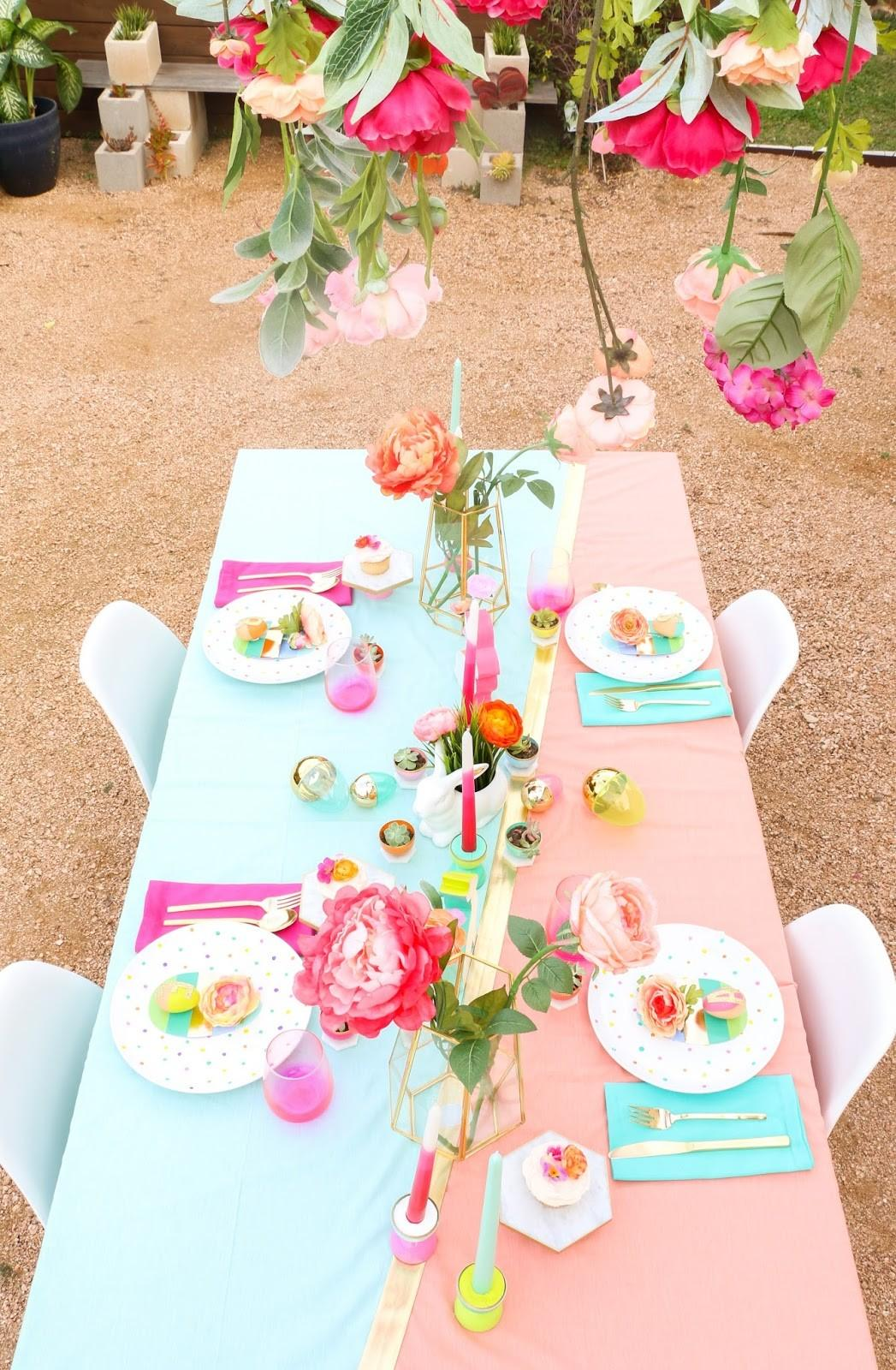 Style Spring Table Setting Kailo Chic Life