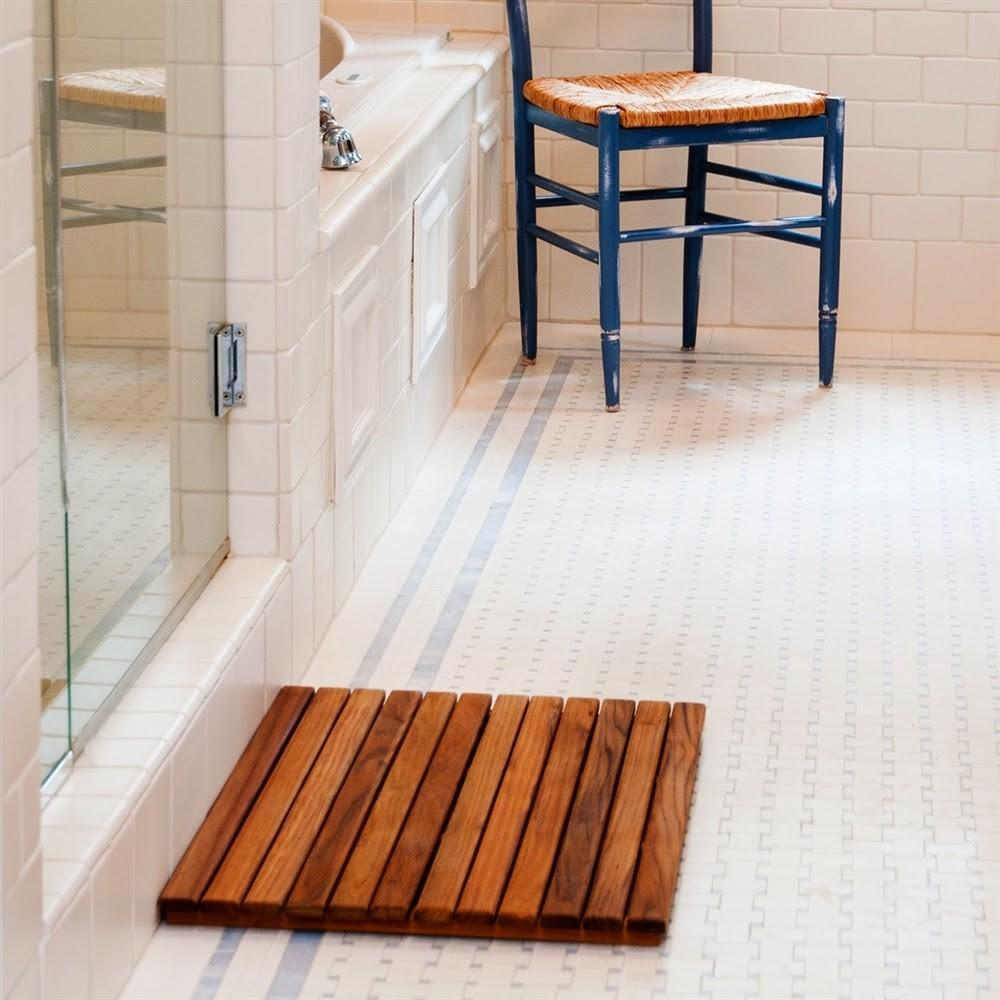 Style Teak Bath Mat Furnitures Best