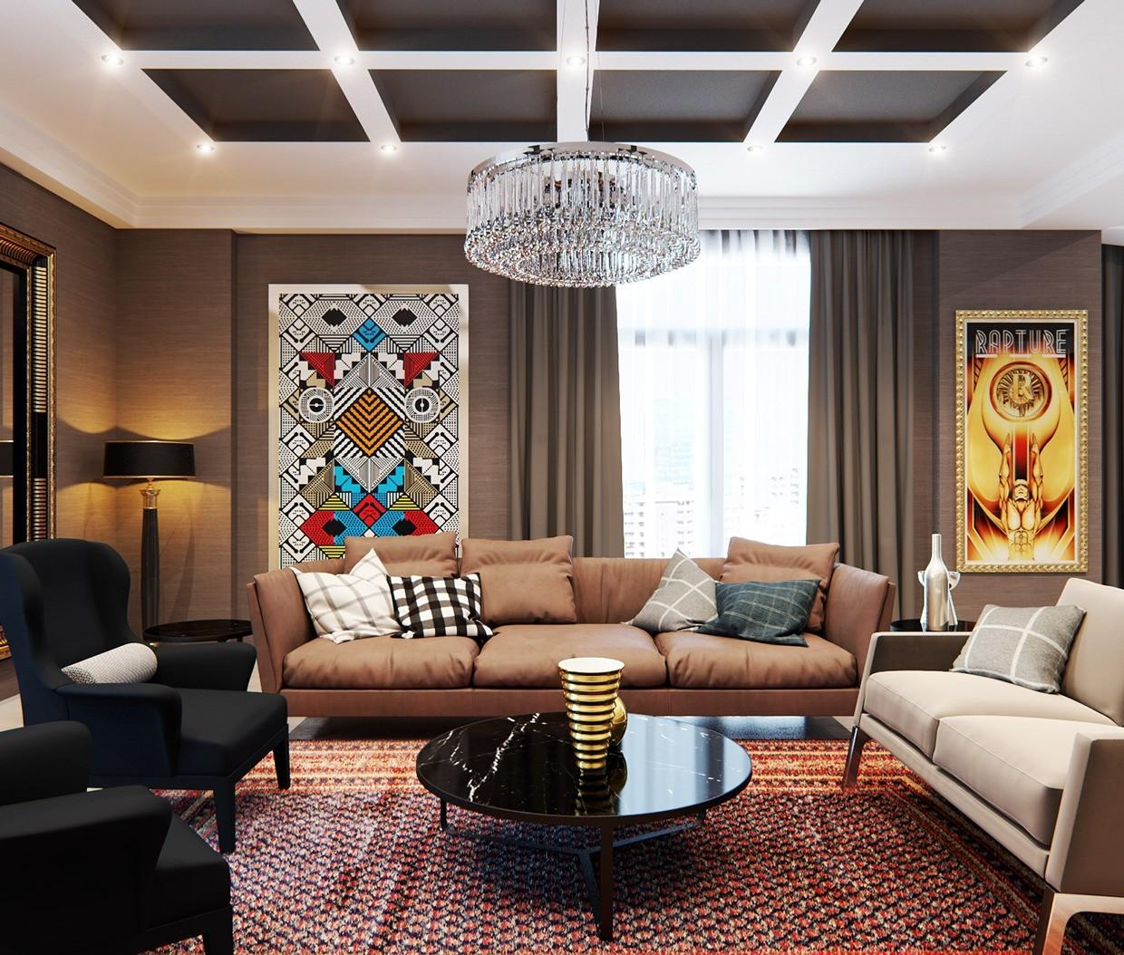 Stylish Apartment Classic Design Features