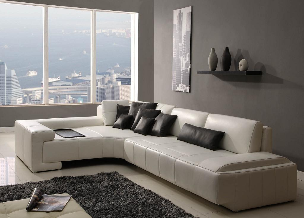 Stylish Modern Sofas Leather Sofa