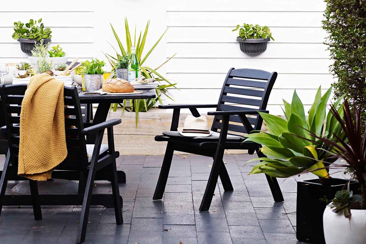 Stylish Outdoor Dining Settings Home Beautiful