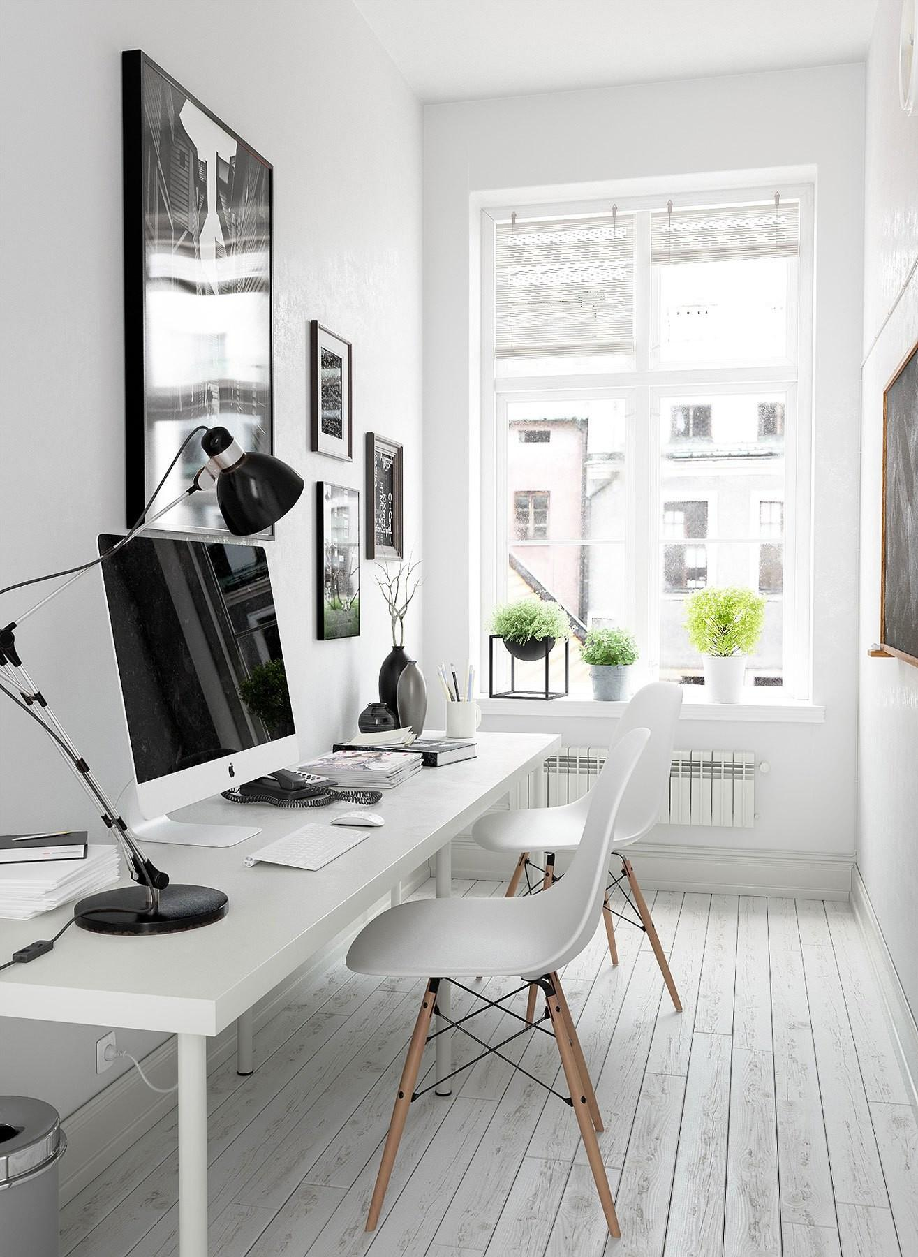Stylish Scandinavian Home Offices Make Your More