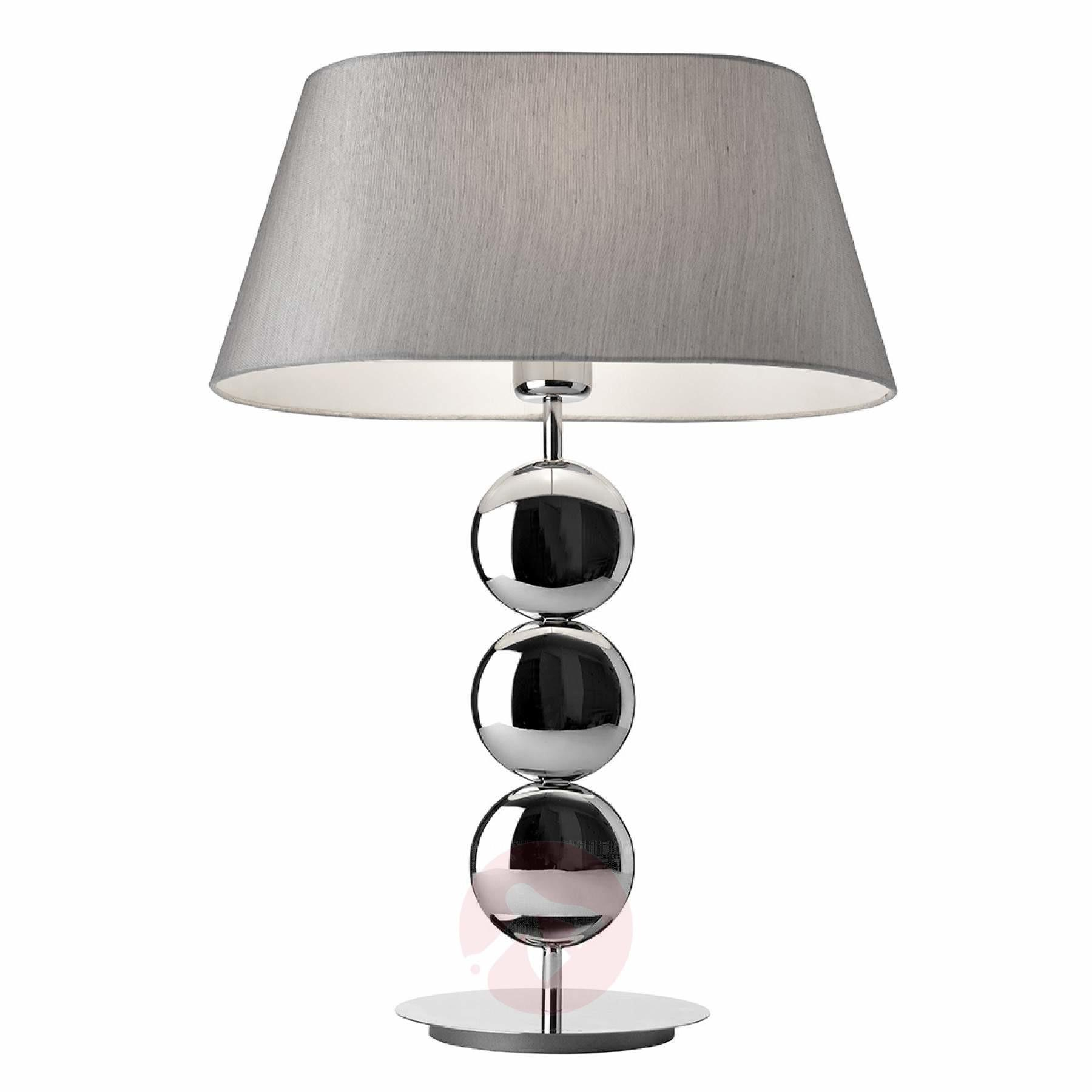 Stylish Table Lamp Sofia Silver Base Lights