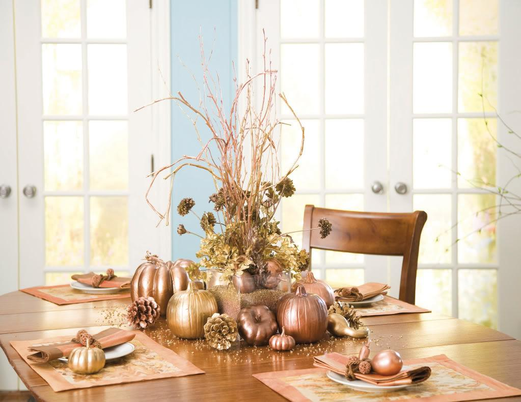 Stylish Table Settings Thanksgiving Tablescape