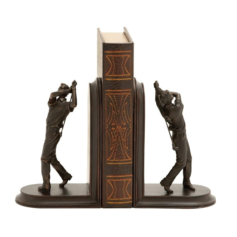 Stylish Unique Golf Themed Bookends
