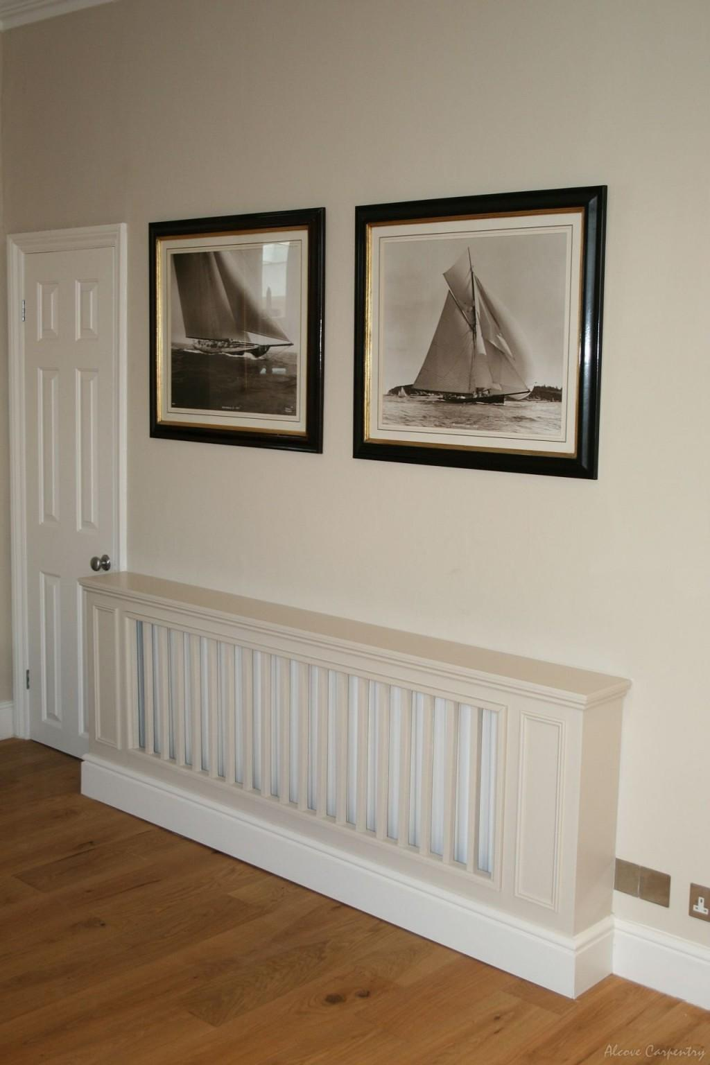 Stylish White Radiator Covers Long Island New York Design