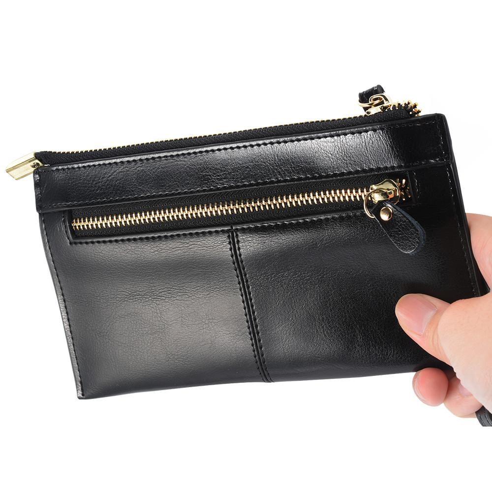 Stylish Women Envelope Leather Credit Card Holder Wallet