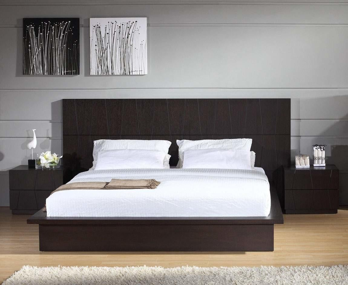 Stylish Wood Elite Platform Bed Washington Anchor