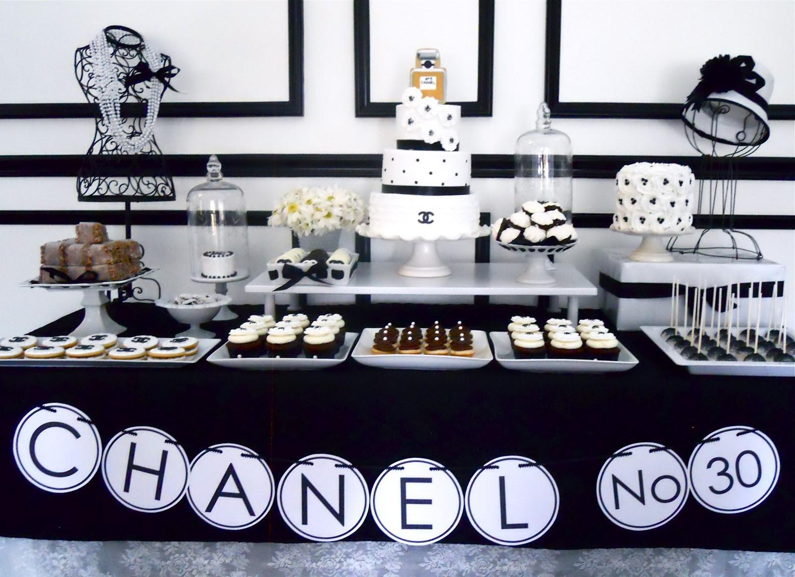 Sugar Events Chanel Birthday Party