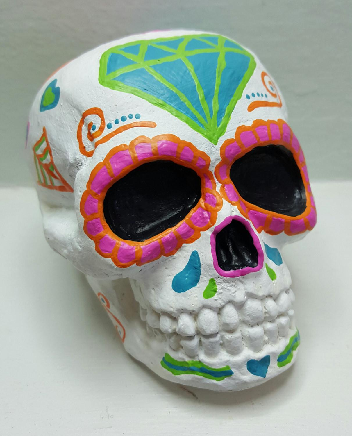 Sugar Skull Calavera Home Decor Day Dead Dia