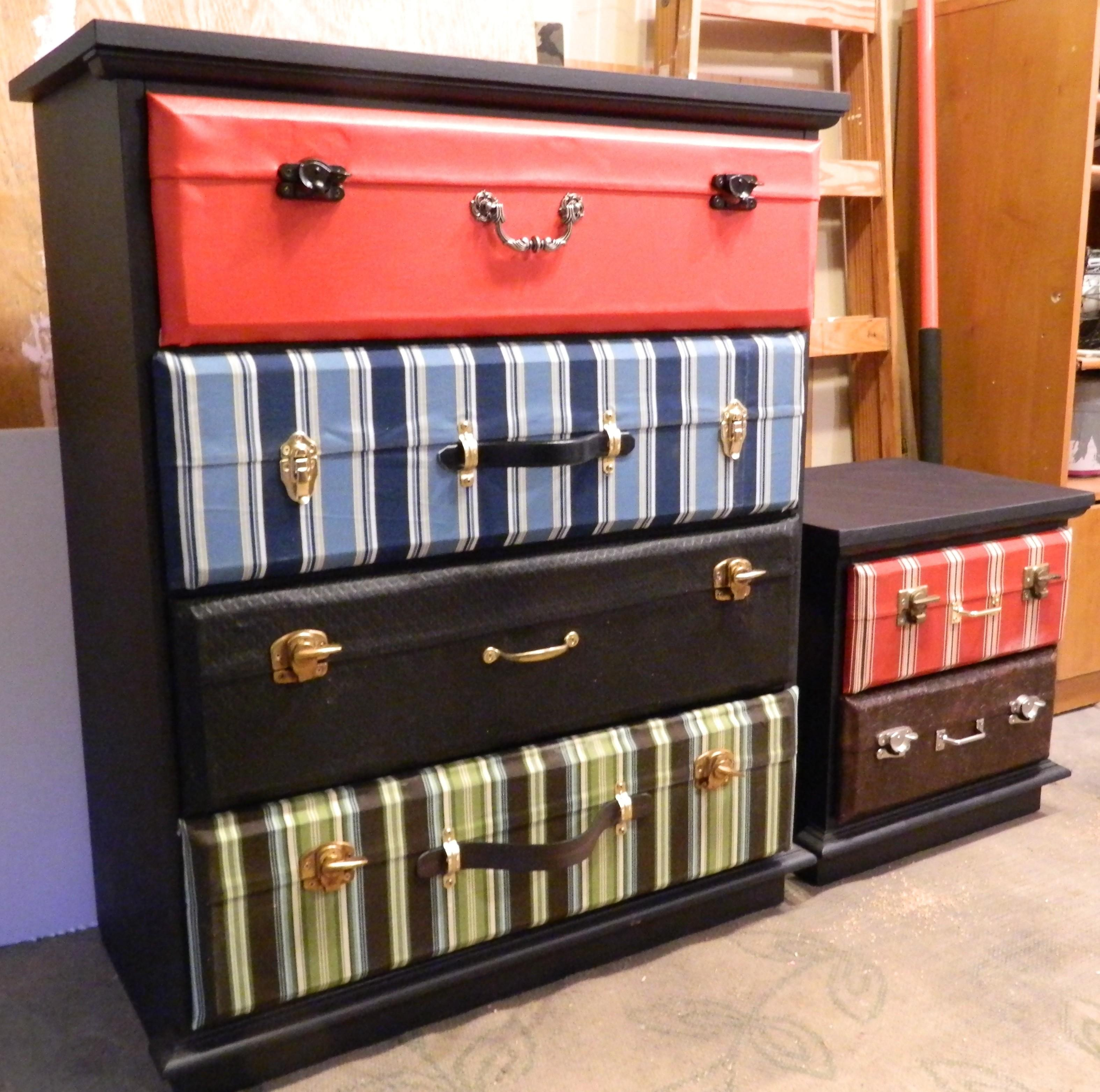 Suitcase Dresser Chapter Creative Side