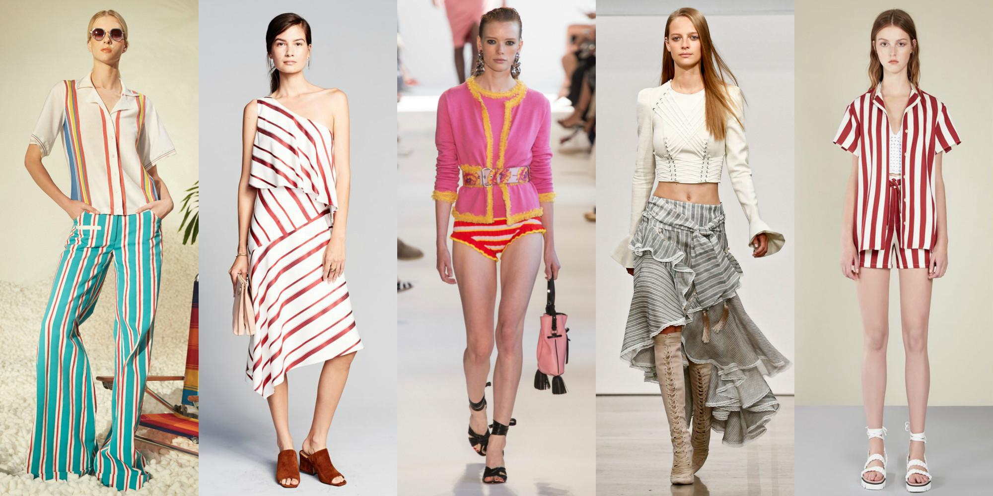 Summer 2017 Fashion Trends Guide Spring Styles
