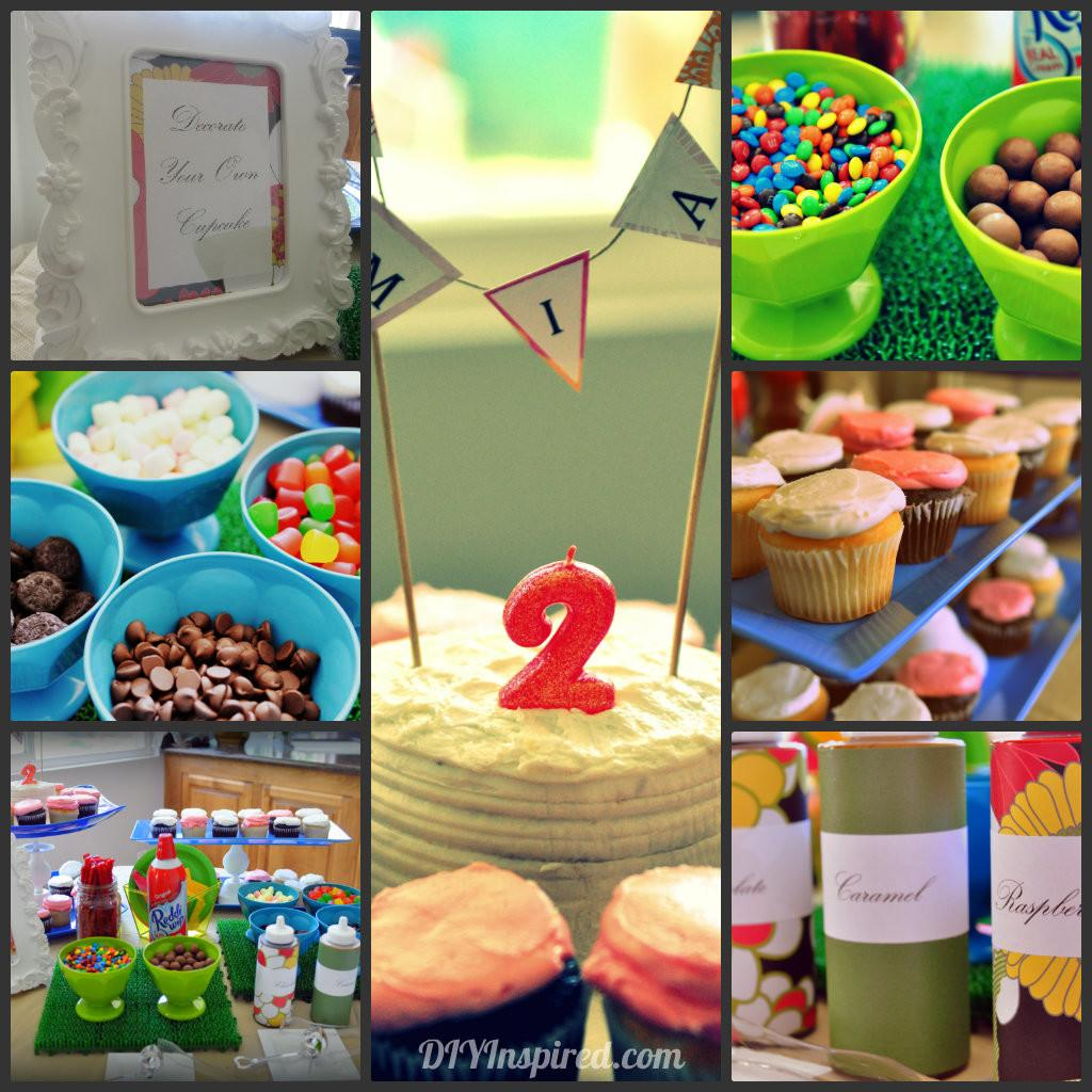 Summer Birthday Party Food Drink Diy Inspired