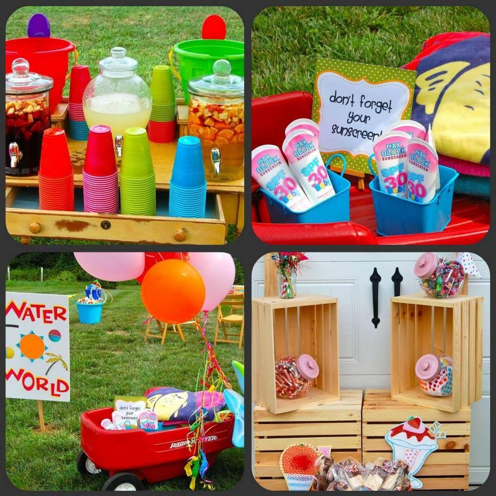 Summer Birthday Party Themes Kids Home Ideas