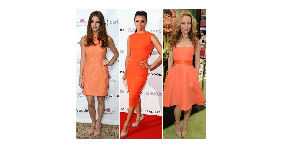 Summer Color Combinations Celebrity Trend Shopping