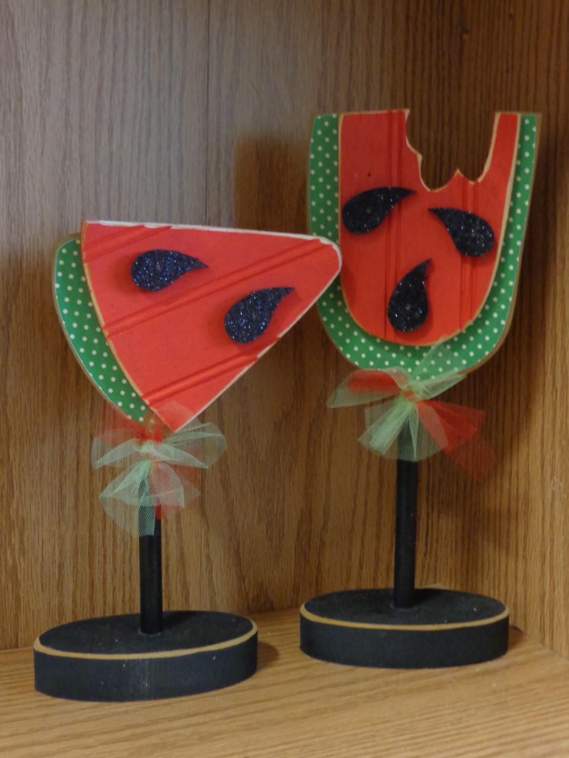 Summer Decor Watermelon Home Stands