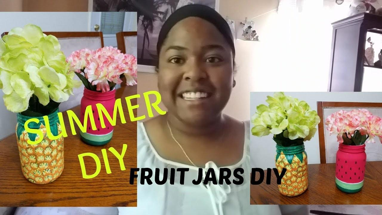 Summer Diy Fruit Jars Celi Valencia