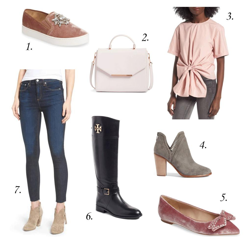 Summer Fall Fashion Transition Pieces Rose Colored