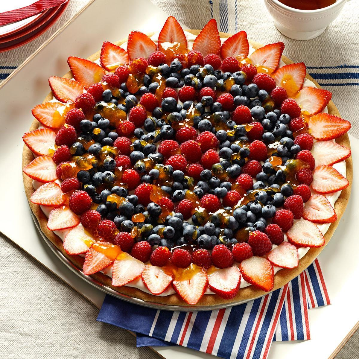 Summer Fruit Pizza Recipe Taste Home