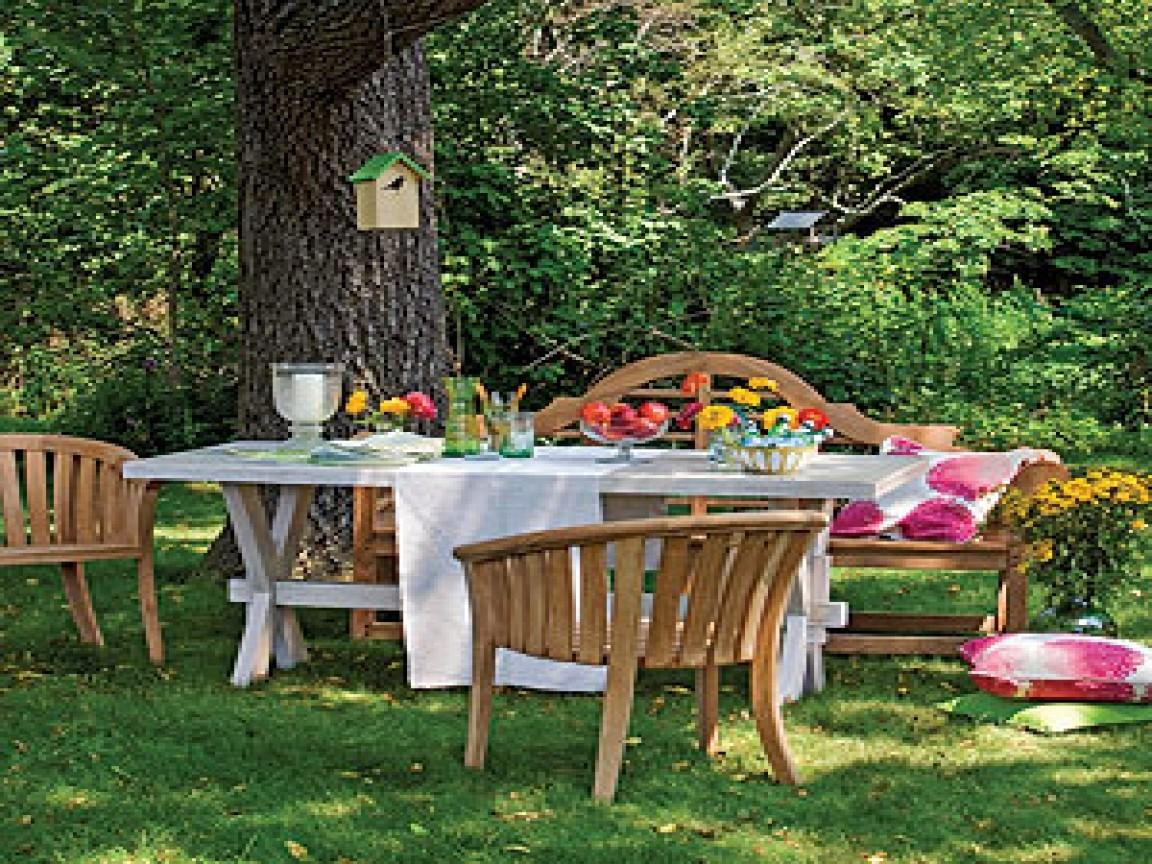 Summer Furniture Outdoor Party Decorating Ideas