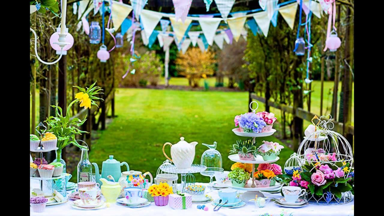 Summer Garden Party Decorations Home Ideas