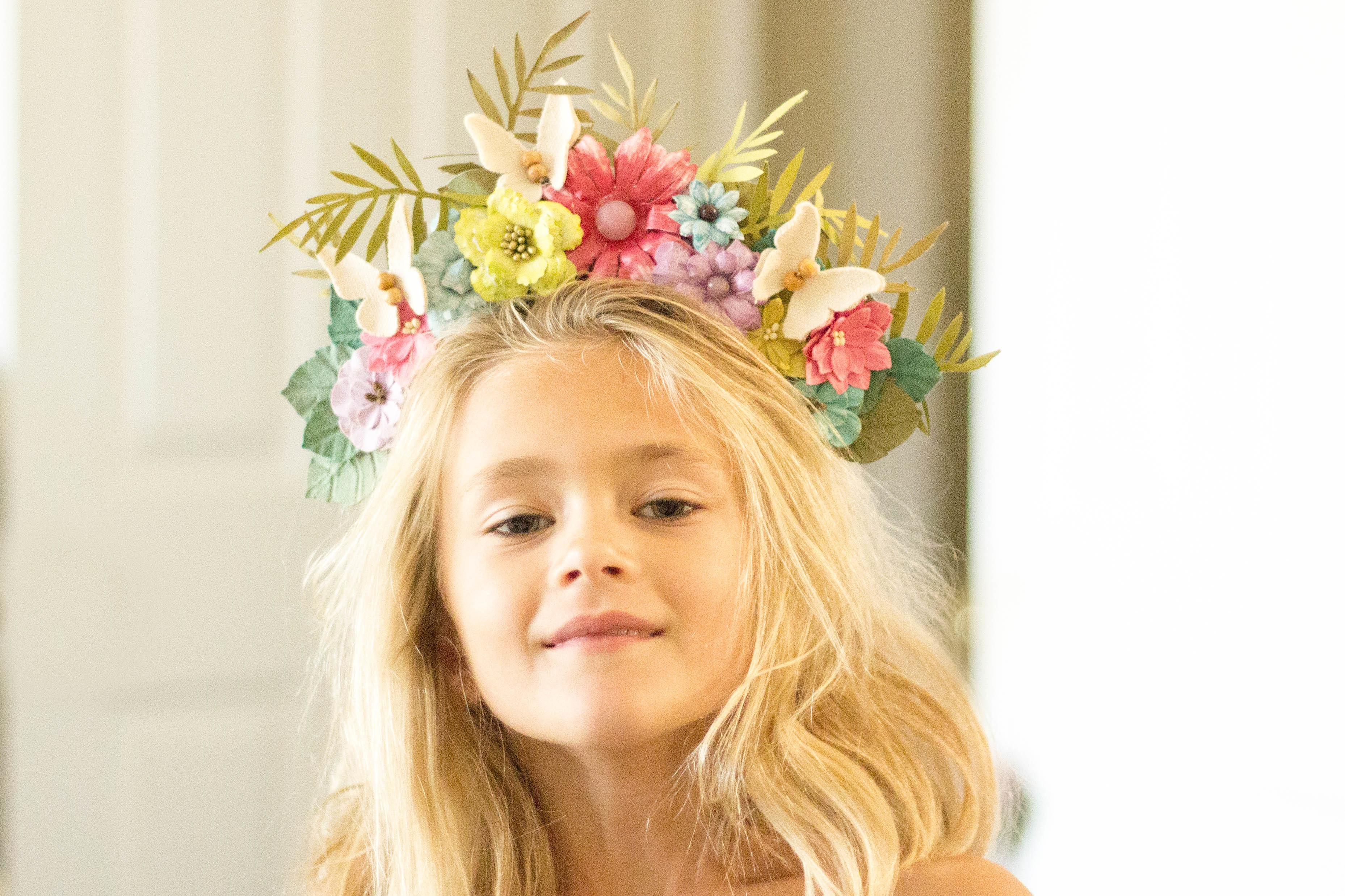 Summer Love Boho Chic Flower Crown Ritzy Parties