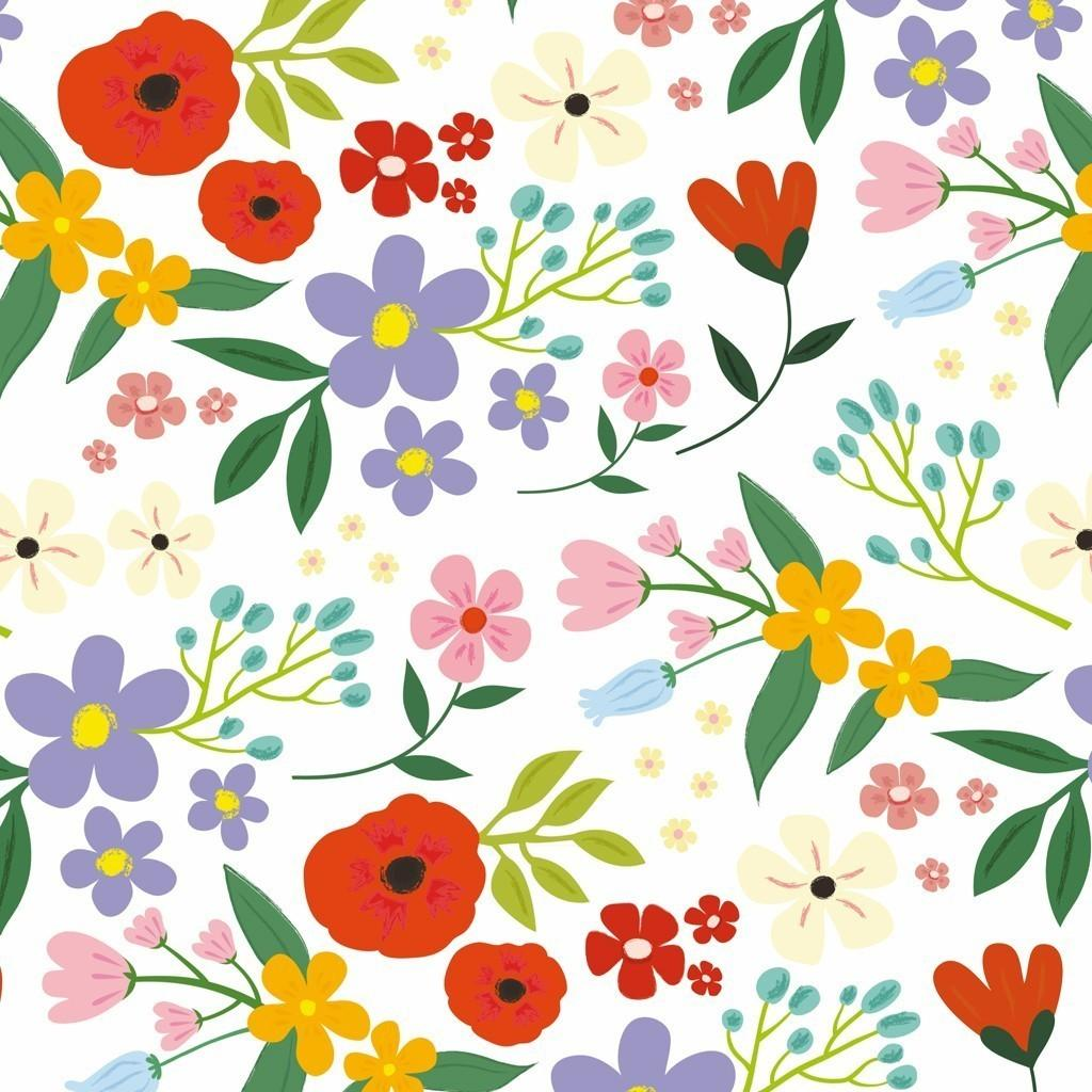 Summer Meadow Wrapping Paper Sheets Rex London