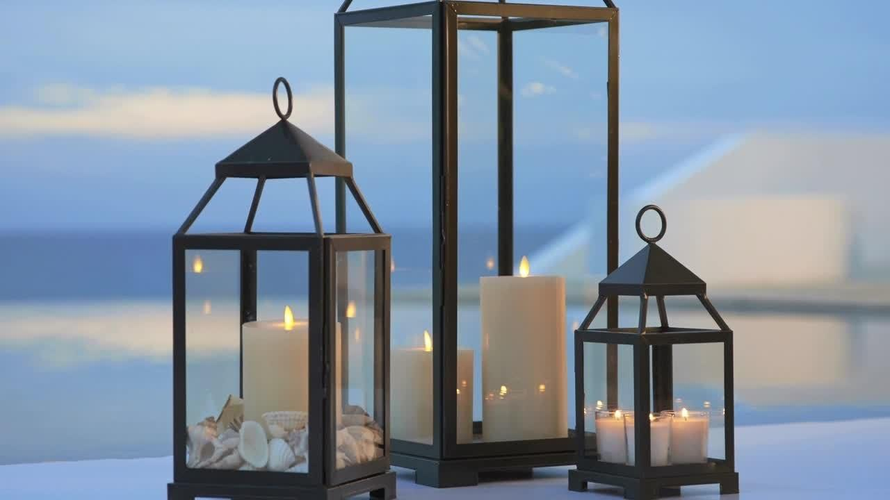 Summer Outdoor Decor Lanterns Pottery Barn
