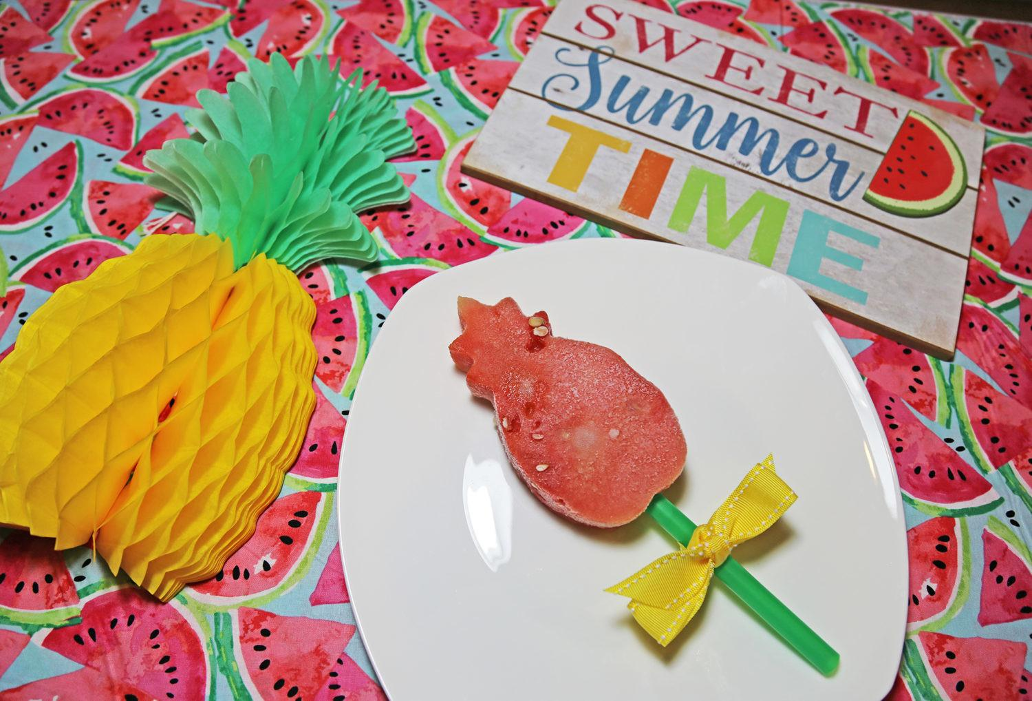 Summer Popsicles Pineapple Watermelon Craft Occasion