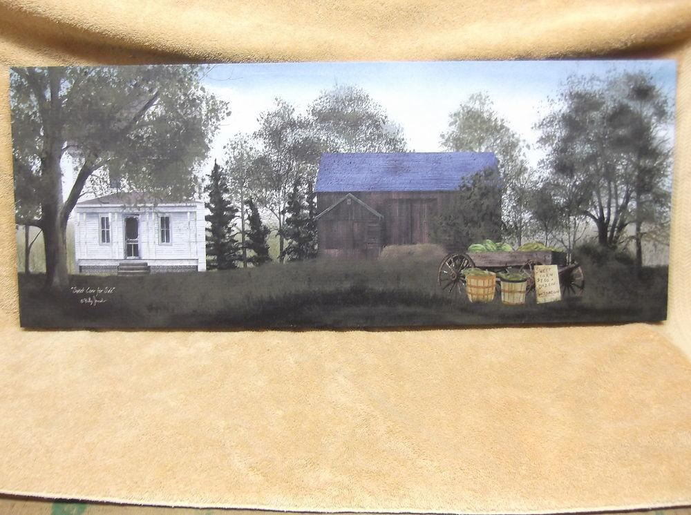 Summer Sweet Corn Sale Barn Country House Canvas Wall