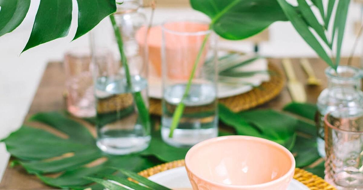 Summer Table Settings Inspire Your Next Outdoor Party