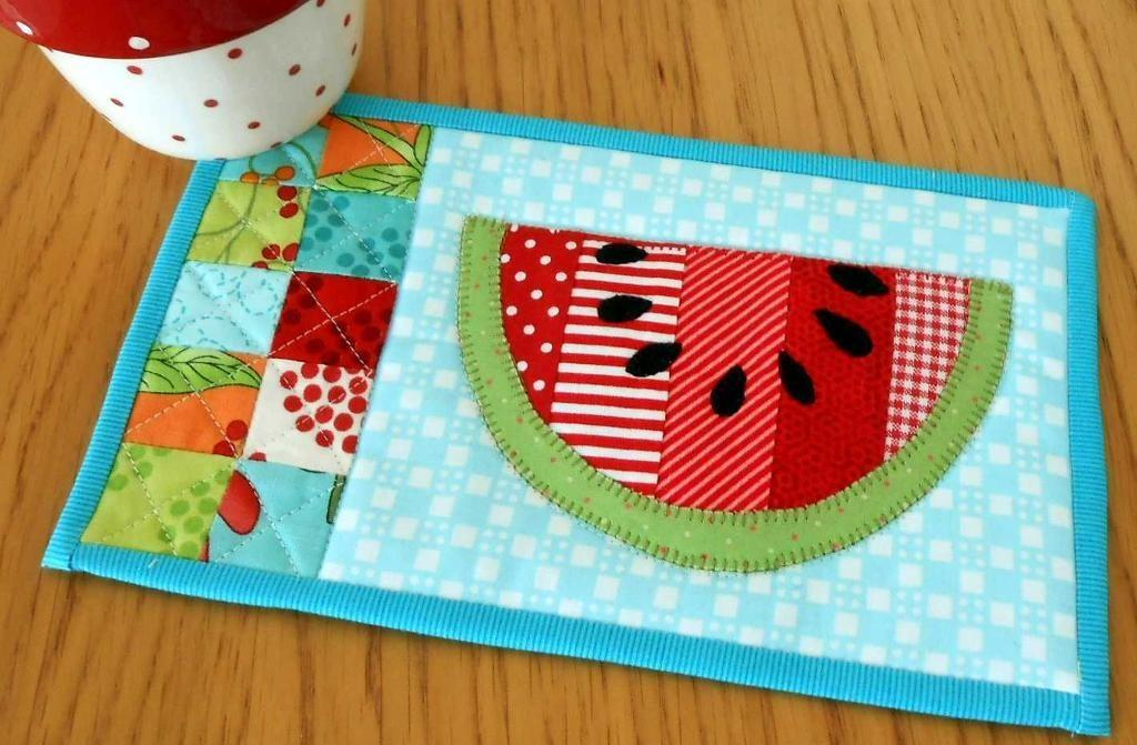 Summer Watermelon Patchsmith Quilting Pattern