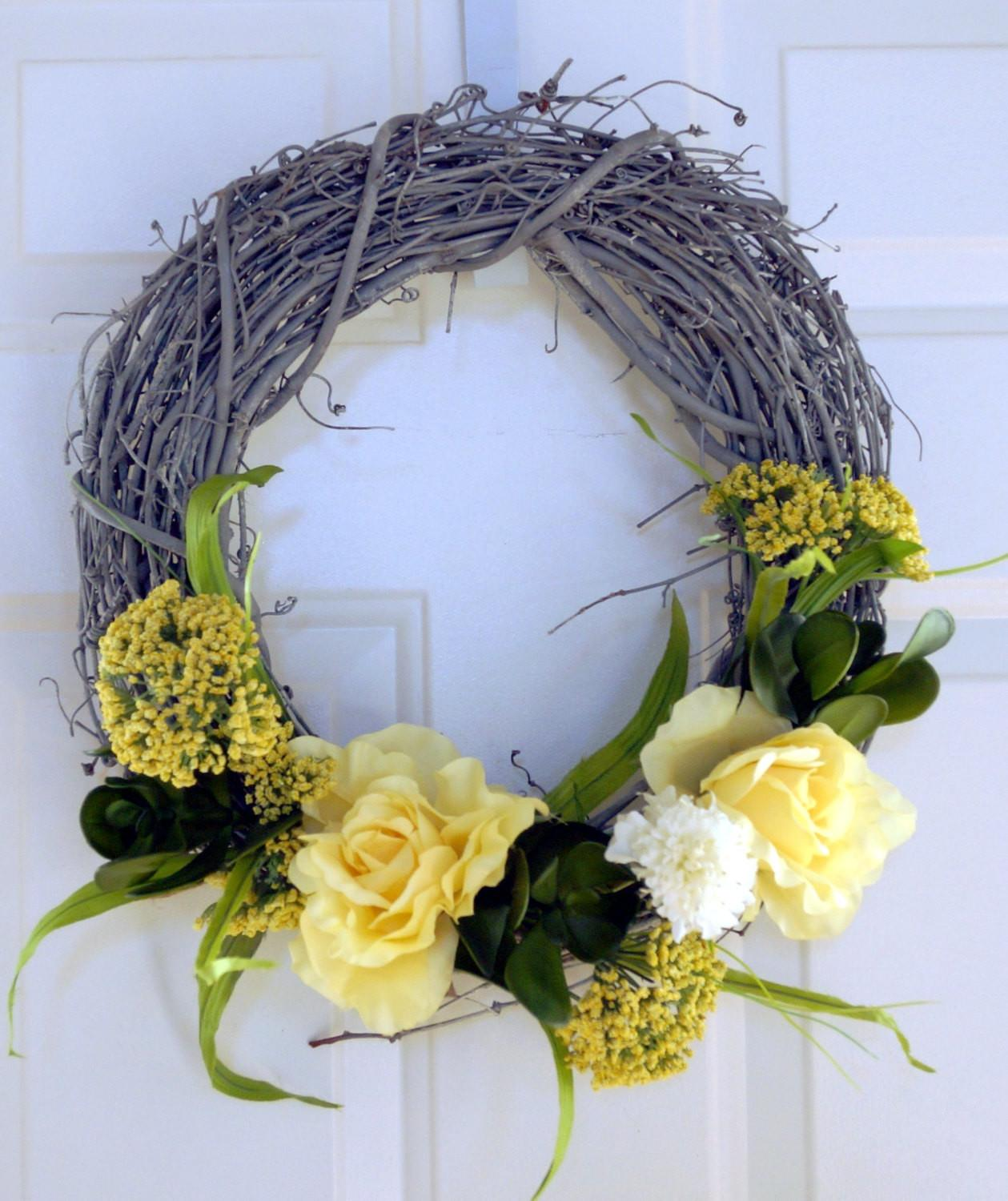 Summer Wreathwedding Flowers Wreath Whimsical Hobby4crafts